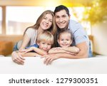father  mother and children | Shutterstock . vector #1279300351