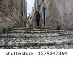 matera is an atmospheric cave... | Shutterstock . vector #1279347364