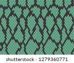 snake skin pattern texture...   Shutterstock .eps vector #1279360771
