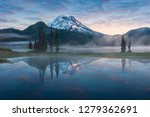 South Sister Broken Top Reflect - Fine Art prints