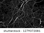 vector map of the city of... | Shutterstock .eps vector #1279372081