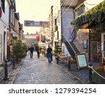 ashton lane  famous cobbled...   Shutterstock . vector #1279394254