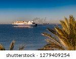 almeria  spain. circa january... | Shutterstock . vector #1279409254