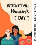 international womens day.... | Shutterstock .eps vector #1279417471