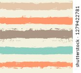 striped pattern  hand drawn... | Shutterstock .eps vector #1279422781