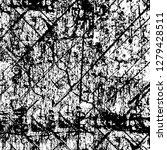 rough grunge pattern design.... | Shutterstock .eps vector #1279428511