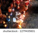 santiago atitlan  guatemala  ... | Shutterstock . vector #1279435831