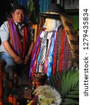 santiago atitlan  guatemala  ... | Shutterstock . vector #1279435834