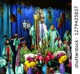 santiago atitlan  guatemala  ... | Shutterstock . vector #1279435837