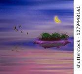 3d illustration. colorful... | Shutterstock . vector #1279448161