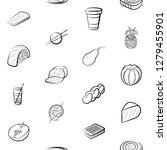 various images set. background... | Shutterstock .eps vector #1279455901