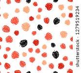 light red vector seamless... | Shutterstock .eps vector #1279519234