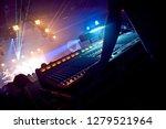 professional sound engineer... | Shutterstock . vector #1279521964