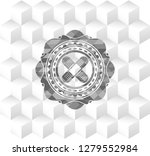 crossed bandage plaster icon... | Shutterstock .eps vector #1279552984
