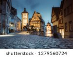classic view of the medieval... | Shutterstock . vector #1279560724