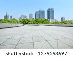 city square floor and modern... | Shutterstock . vector #1279593697