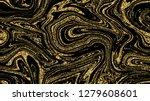golden marble background... | Shutterstock . vector #1279608601