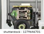 mechanism of pc dvd disk drive  ... | Shutterstock . vector #1279646701