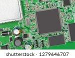 green printed modem motherboard ... | Shutterstock . vector #1279646707