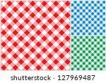 tablecloths vector background. | Shutterstock .eps vector #127969487