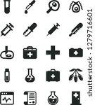 solid black vector icon set  ... | Shutterstock .eps vector #1279716601