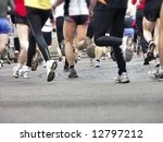 long distance runners in... | Shutterstock . vector #12797212