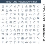 handle icons. trendy 100 handle ... | Shutterstock .eps vector #1279776634