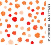 light orange vector seamless... | Shutterstock .eps vector #1279794391
