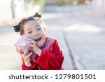4 years old asian chinese child ... | Shutterstock . vector #1279801501