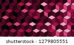 trendy geometric background. 3d ...