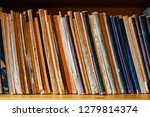 very old vintage books and... | Shutterstock . vector #1279814374