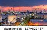oil and gas industry   refinery ... | Shutterstock . vector #1279821457