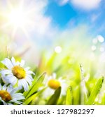 Art Abstract Background Spring...