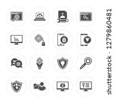 16 browser  speedometer  sha... | Shutterstock .eps vector #1279860481