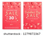 valentines day special offer... | Shutterstock .eps vector #1279872367
