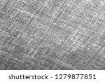 gray fabric burlap texture or... | Shutterstock . vector #1279877851