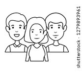 group of people characters | Shutterstock .eps vector #1279893961