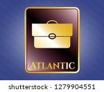 shiny badge with briefcase... | Shutterstock .eps vector #1279904551