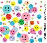 white background smiley...   Shutterstock .eps vector #1279919641
