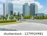modern buildings and empty... | Shutterstock . vector #1279924981