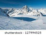 Matterhorn Glacier Has A...