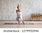attractive asian girl... | Shutterstock . vector #1279952944