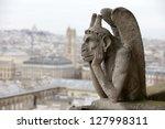 Gargoyle  Chimera  On Notre...