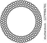 islamic geometric figures... | Shutterstock .eps vector #1279986781