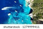 aerial drone bird's eye view... | Shutterstock . vector #1279999411