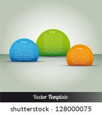 template  vector eps10... | Shutterstock .eps vector #128000075