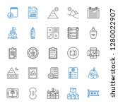 mark icons set. collection of... | Shutterstock .eps vector #1280022907