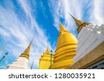 grand palace sightseeing of... | Shutterstock . vector #1280035921