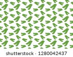background vector with pea... | Shutterstock .eps vector #1280042437