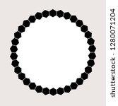 modern honeycomb graphic round... | Shutterstock .eps vector #1280071204